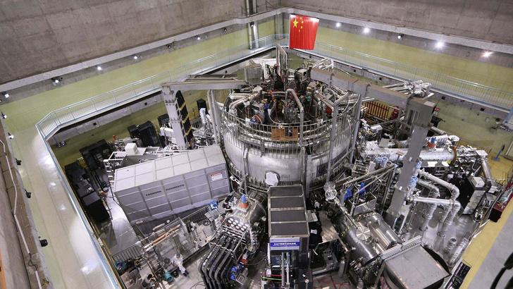 Фото №1 - Китайцы построили «искусственное солнце»
