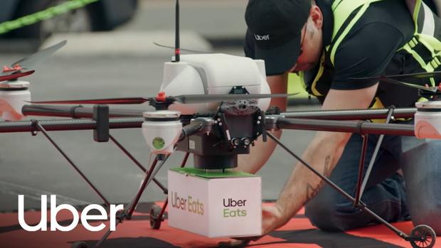 Фото №1 - В США теперь могут доставить бигмак при помощи дрона (видео)