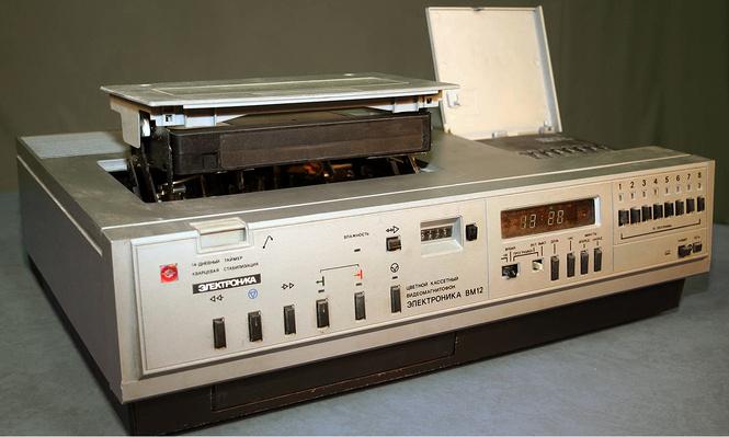 фотографий самых крутых видеомагнитофонов прошлого века