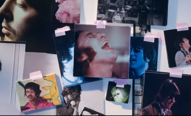 Фото №1 - У The Beatles вышел новый клип. Glass Onion на твоем ламповом экране прямо сейчас