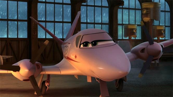 кадр из мультфильма Самолёты
