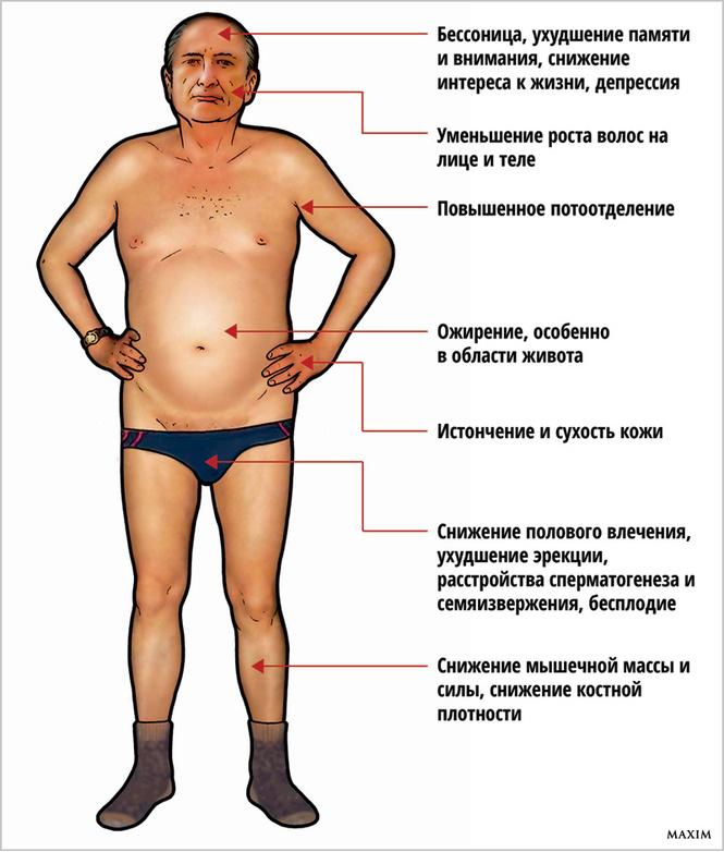 Низкий тестостерон у подростка симптомы