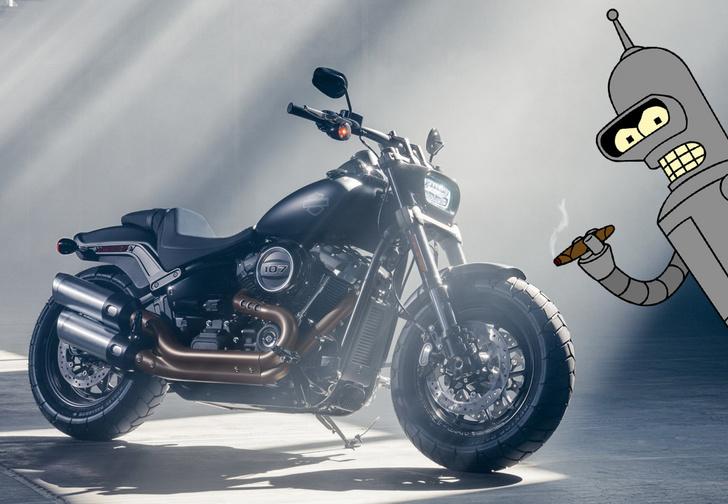 Фото №1 - Кого-то этот новый Harley-Davidson нам напоминает…
