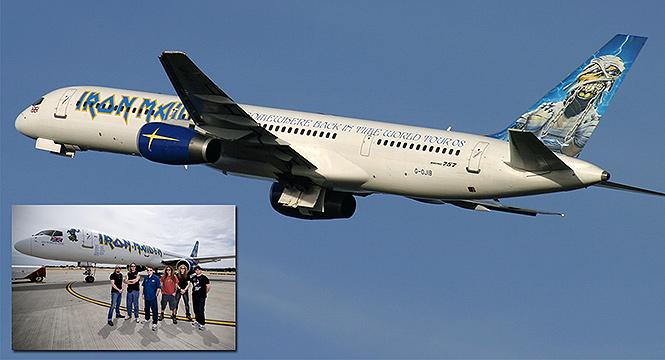 Фото №13 - 25 самолетов и автобусов рок-звезд