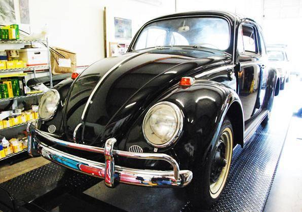 Фото №1 - На аукцион выставлен «нулевой» Volkswagen Beetle 1964 года. Всего за 1 млн долларов (галерея)