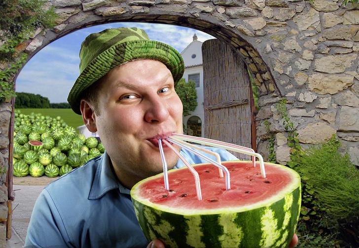 Фото №1 - Как выпить арбуз