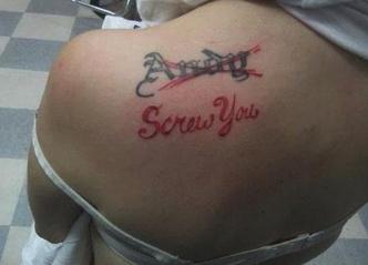 Фото №6 - 10 попыток исправить татуировки с именами и лицами бывших