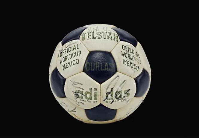 Все футбольные мячи чемпионатов мира, включая новый, Россия-2018!