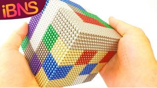 Конструктор из 10 тысяч магнитных шариков (ВИДЕО для медитации)