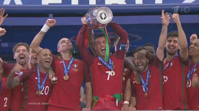 ⚽ Финал Евро-2016! Онлайн-трансляция матча Португалия — Франция