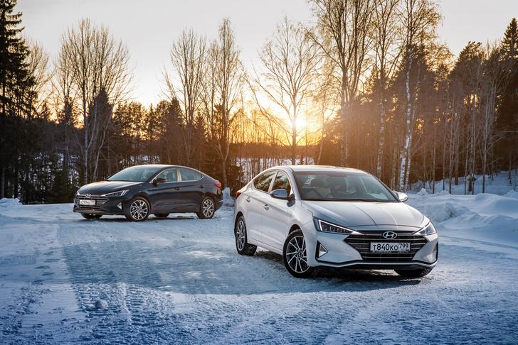 Фото №1 - Hyundai удивила ценой обновленной Elantra