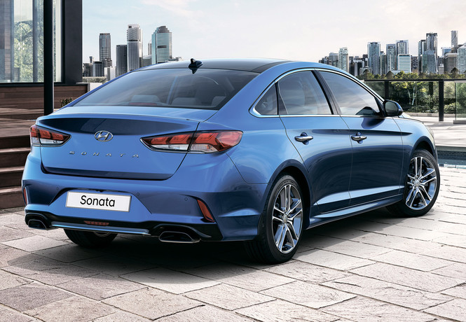 Главное о новом Hyundai Sonata