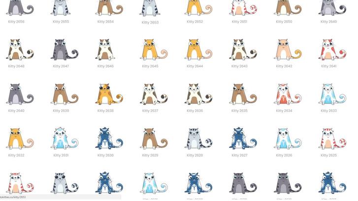 Фото №1 - Торги в валюте Ethereum растут из-за рисованных котиков