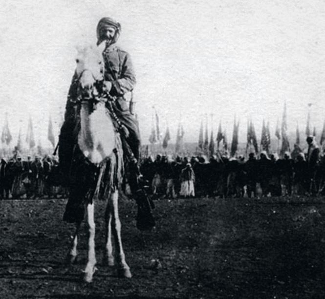 Шейх Султан аль-Атраш, лидер Сирийского восстания. Хауран, 14 августа 1925 г.