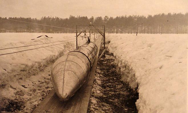 Фото №4 - История советского шаропоезда, чуть не перевернувшего представление о железной дороге в 30-х годах