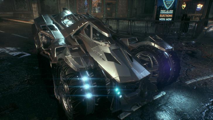 Фото №4 - Чрезвычайная бэтмобилизация. 6 причин экономить на обедах ради Batman: Arkham Knight