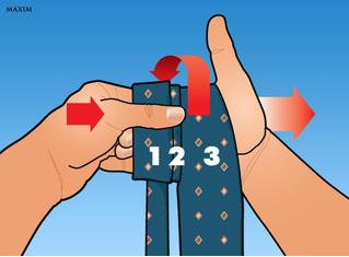 Как завязать галстук за секунду