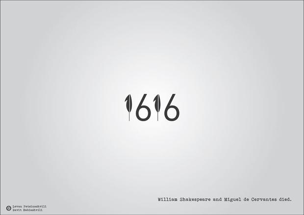 Фото №27 - Исторические даты в минималистичных иллюстрациях