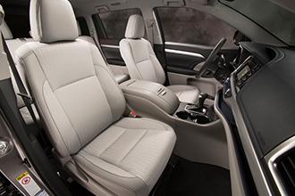 Фото №4 - Toyota Highlander: харизматичное авто с кожаным рулем с подогревом и защитой от барсеточников