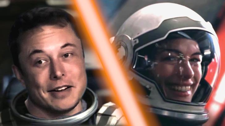 Фото №1 - Илон Маск сажает первую ступень SpaceX в «Интерстеллар» (видео)