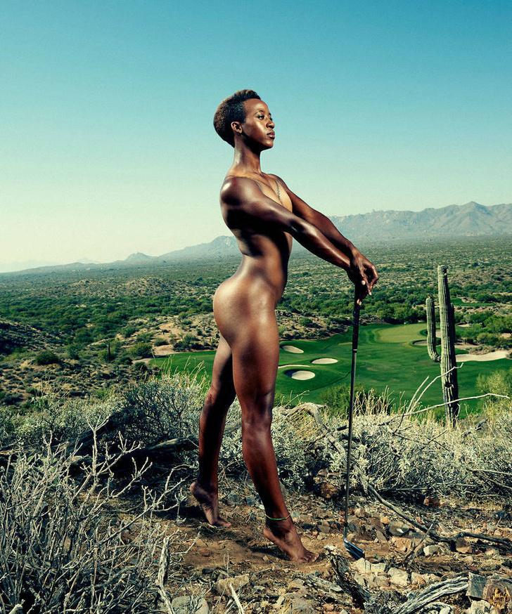 Фото №6 - А спортсменка-то голая!