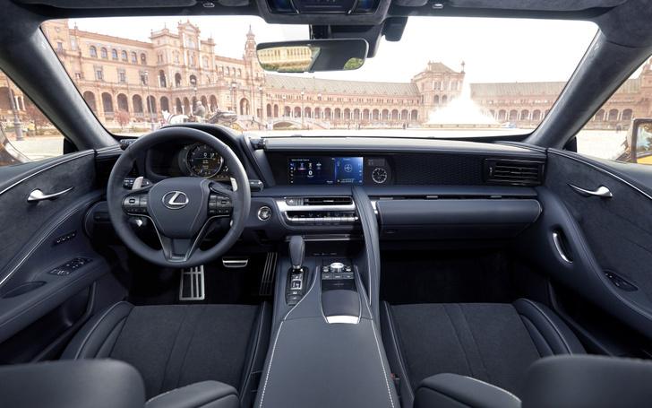 Фото №3 - Lexus LC 500: суперсовременная оболочка для настоящего олдскула