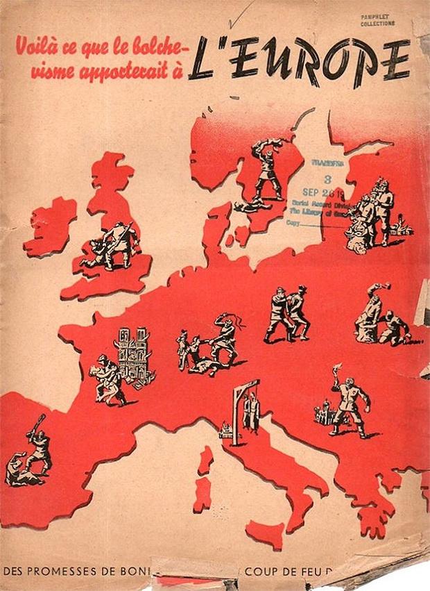 Фото №5 - 24 исторических плаката с антисоветской агитацией