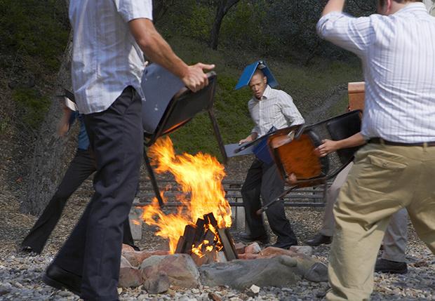 Разжечь костер