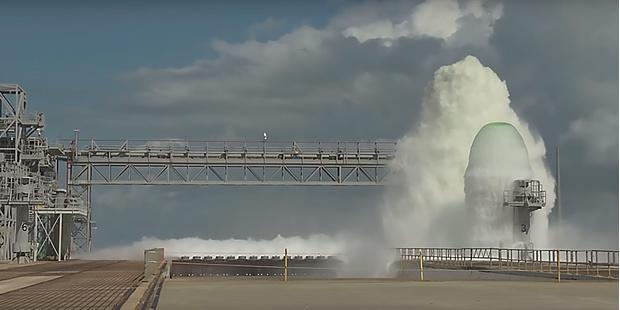 Фото №1 - Как работает система водяного охлаждения на космодроме. Наглядный пример от NASA (видео)