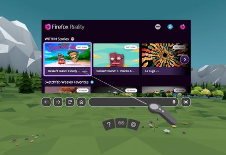 Mozilla выпустила Firefox, но для виртуальной реальности