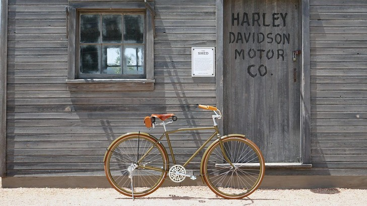 Фото №1 - Harley-Davidson теперь выпускает велосипед (по цене мотоцикла)