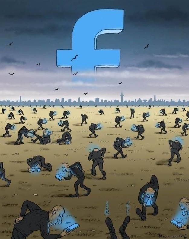 Фото №4 - Вся правда о «Фейсбуке» от карикатуриста Павла Кучински