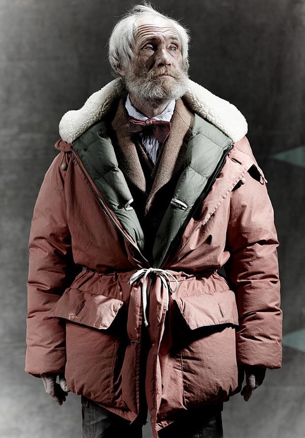 Куртка от британского дизайнера Найджела Кабурна