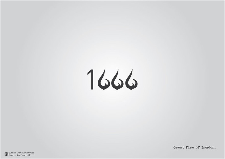 Фото №11 - Исторические даты в минималистичных иллюстрациях
