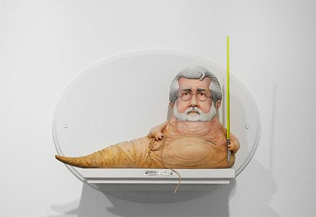 Фото №2 - Скульптор создает диковатые статуэтки знаменитых кинорежиссёров