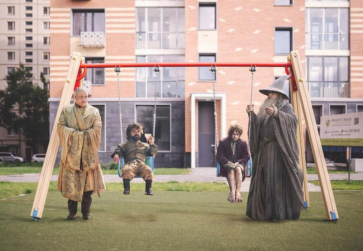 Фото №1 - Первые жильцы программы реновации от художника Duran