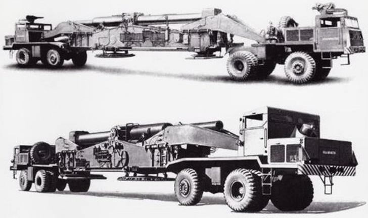 Фото №2 - «Атомная Энни»: пушка, которая стреляла ядерными снарядами