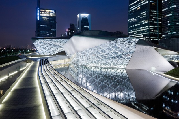 Оперный театр, Гуанчжоу