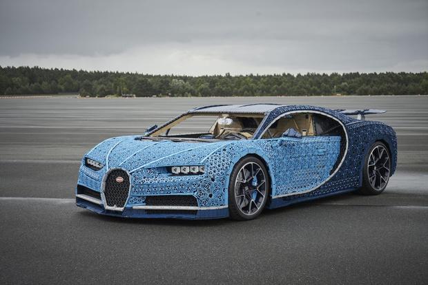 Фото №10 - Миллион деталей и десять месяцев: как собирали Bugatti Chiron из кубиков Lego