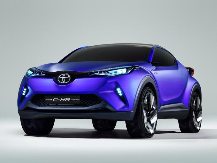 Фото №3 - Toyota C-HR: дизайн рулит