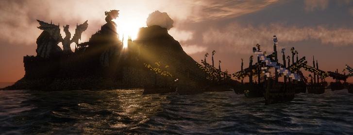 Фото №2 - Майнкрафт престолов: Вестерос воссоздали в виртуальном мире