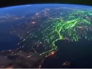 Миграция птиц на зиму в теплые края (живописное видео)