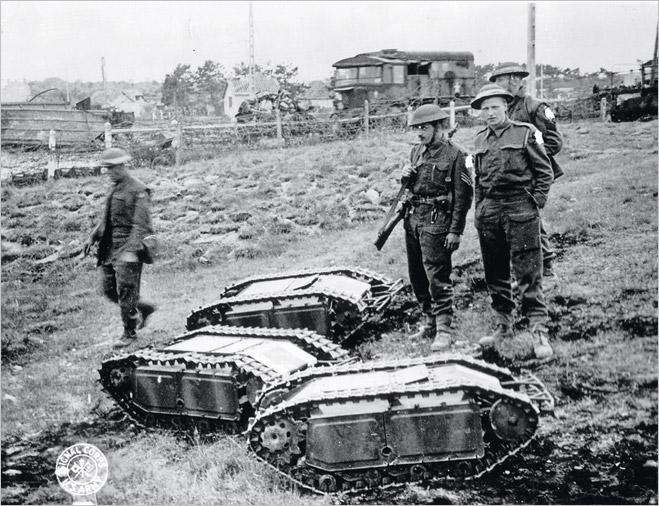 Фото №5 - Бесславные ублюдки: самые уродливые танки, созданные за всю историю вооружений