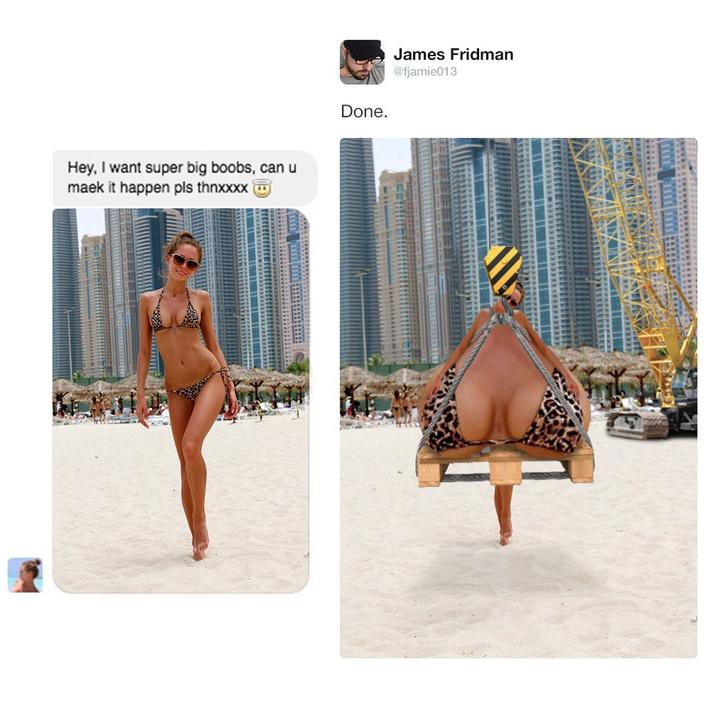Фото №10 - Самый смешной мастер фотошопа в Интернете!
