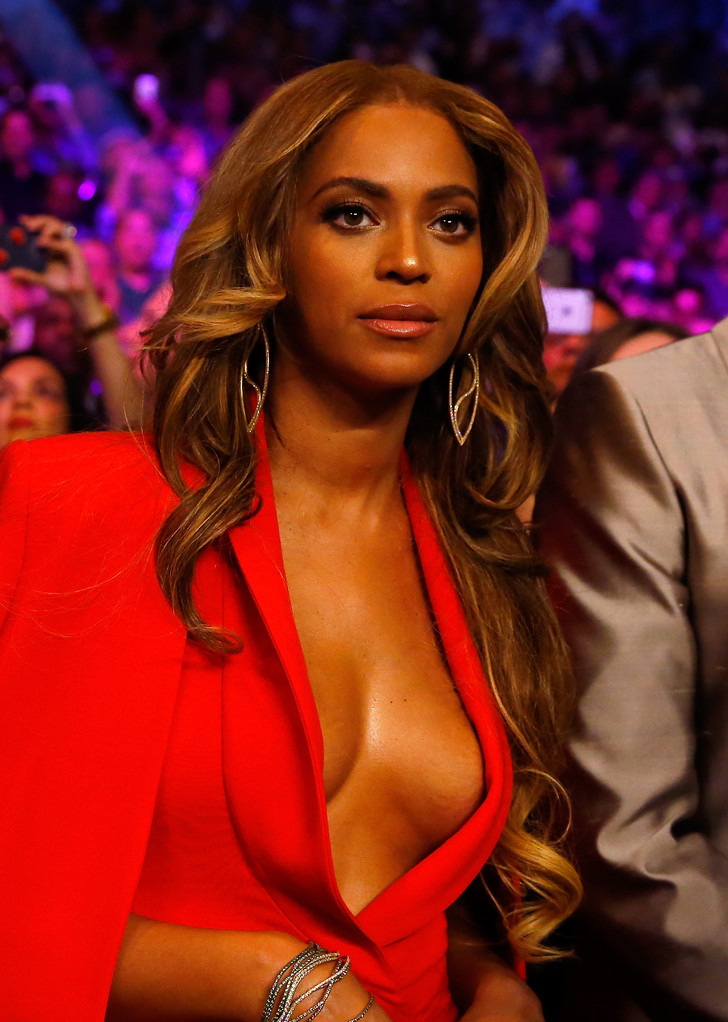 Beyonce Manny Pacquiao vs. Floyd Mayweather