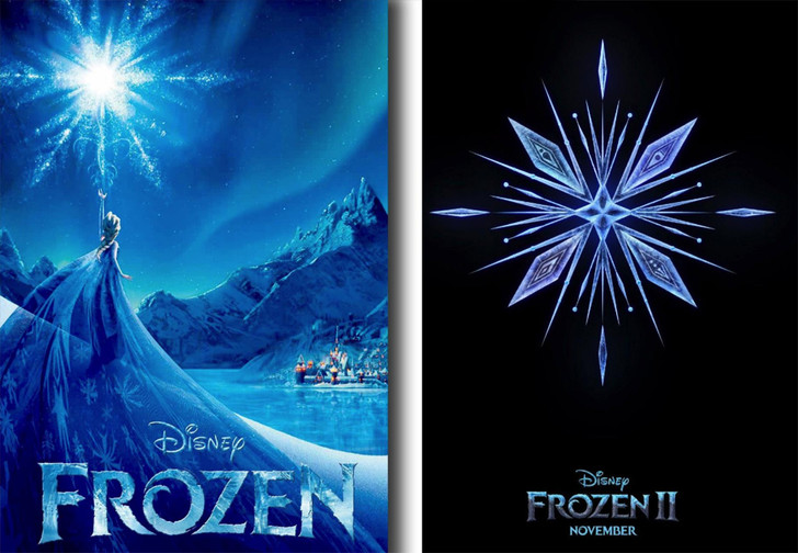 Фото №1 - Ученый раскритиковал Disney за то, что снежинка на постере к мультику «не по законам физики»