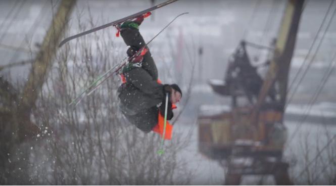Очень красивый фильм про русских экстремальных лыжников (ВИДЕО)