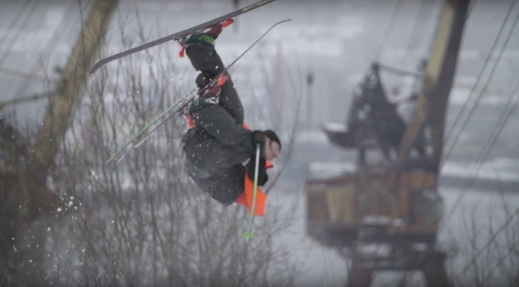 Фото №1 - Очень красивый фильм про русских экстремальных лыжников (ВИДЕО)