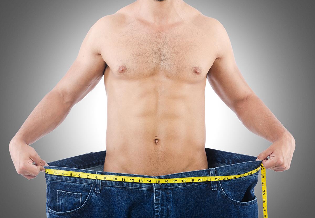 Мужчине надо быстро похудеть