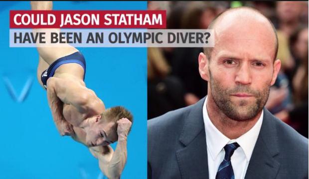 Фото №1 - Каким прыгуном в воду был Джейсон Стейтем?
